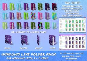 Windows Live Folder Mega Icon Pack by Rizzie23