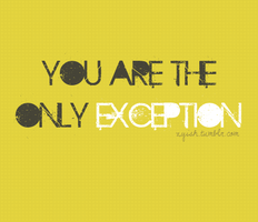 Only Exception by zUshii