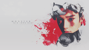 CHEN|WALLPAPER|MONSTER by EXOEDITIONS