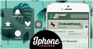 Iphone Toucher Widget by Chokolathosza