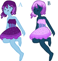 10 Point Humanoid Female Adopts CLOSED by internetnerd15