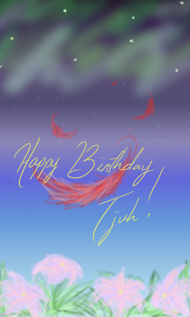 Tjuh the Birthday Girl! by leayana