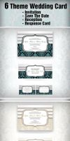 6 Theme Wedding Card by constantine80