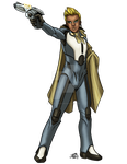 Male Human Envoy by ProdigyDuck