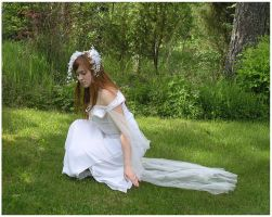 Dressed In Summer White by Eirian-stock