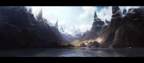 Wild mountains by leventep