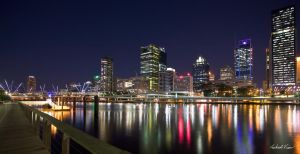 Brisbane City - Night 2 by robertvine