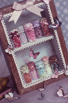 Candies for dolls by Sarqq