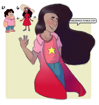 [request] Stevonnie! by ChelberNo1