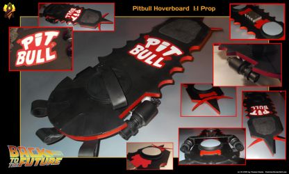 Pitbull Hoverboard Prop Details by Euderion