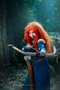 Princess Merida from Pixar's BRAVE by AlexanderNVIDIA