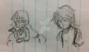Lil Sketches by xMitsukami