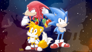 Sonic Mania Triple Threat by MugiMikey