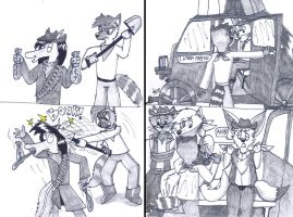 Furry Western part 7 by Levvvar