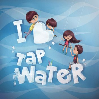 I love tap water by molokolo