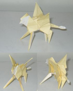 Origami Griffin by Acsumama