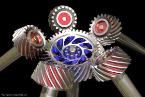 Spiral Bevel Gears by bugman123