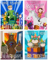 Birthday Cards by stayte-of-the-art