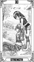 KH Tarot: Strength by Autumn-Sacura