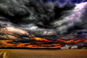 Silence of the Storm. by dancingpixie