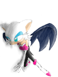 A Picture of Rouge by SwordRedheart