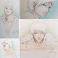 Manga Guys Sketches by nime080