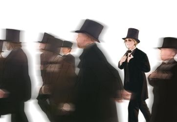aph tophat scene by mikitaka
