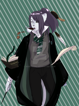 Slytherin! by MishaBahl