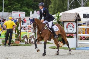 3DE Show Jumping Phase Stock 53 by LuDa-Stock