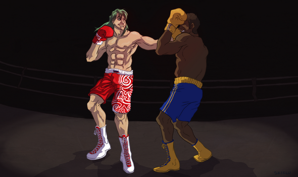 Alex the Boxer by SkyFlu