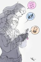 Dad and D.va by Queen-Apple