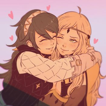 Ophelia and Soleil by Koyorin