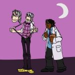Cecil and Carlos by Dragimal