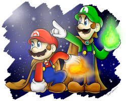 Commish: Destined Plumbers!! by BoxBird