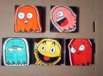 Pacman Set by theArtisanRogue