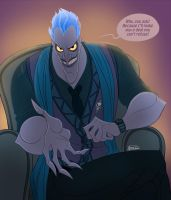 Disney Hercules_The Underworld Ruler by ariel025