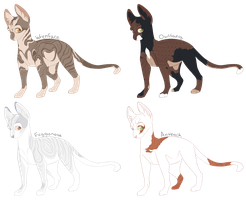 Warrior Cat Auction | Open by moietea