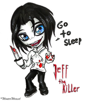 + Jeffy the Killer chibi + by CathrieWarehouse