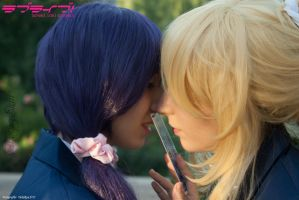 Tojo Nozomi and Ayase Eli - Love Live! // 6 by xAnotherSkin
