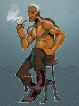 Commission: Selkie man by zillabean