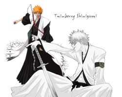 Twinberry Shinigami Digi-Art by YueShirosaki