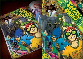 Art through the AGES: Jet Set Radio by KetrinDarkDragon