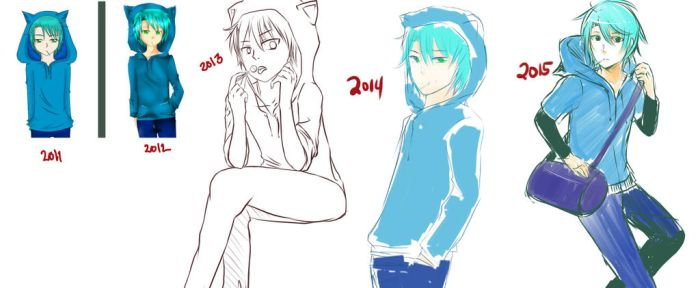 Yearly Draw by ama-chii