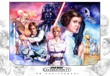 Star Wars Celebration IV by Callista1981
