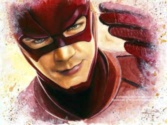 Barry Allen - 'The Flash' (Grant Gustin) by Jeanne-Lui