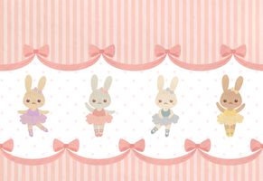 Bunny Wallpaper by wolfypuppy