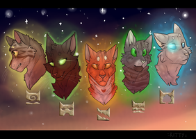 Five Clans by WeHaveCandy