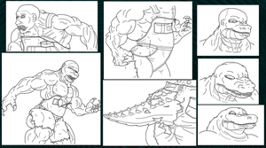 Croc Compound Collab Request WIP 2 by DanteVergilLoverAR