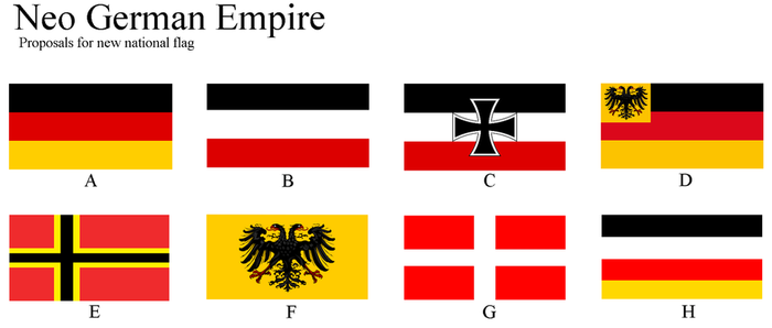 Flag of New German Empire by Disney08