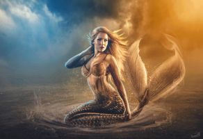 The Sand Mermaid by ManuxGame